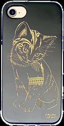 Feral Kitten Black Case (iPhone)