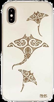 Manta Rays White Case (iPhone)