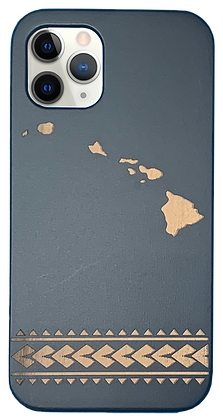 Hawaiian Islands Case Black (iPhone)
