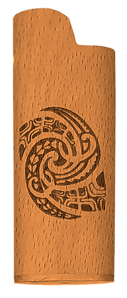 Tribal Spiral Lighter Cover