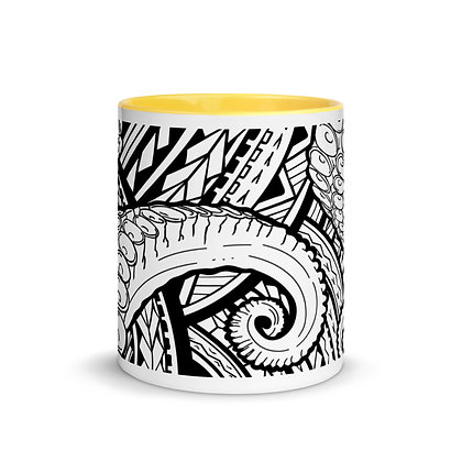 Octopus Mug with Color Inside