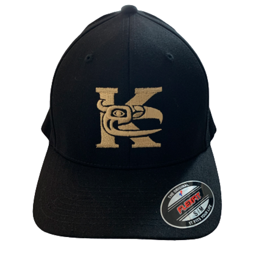 Kitsilano Black Ball Cap