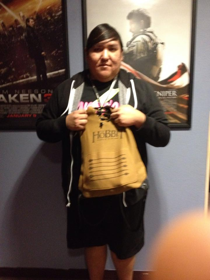 Winner of Hobbit Prize Pack