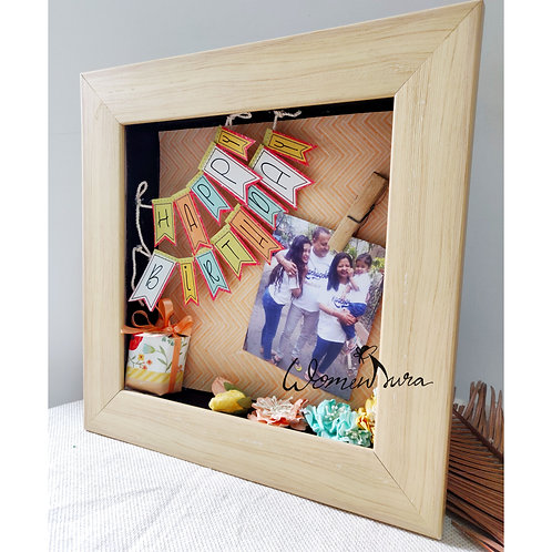 Birthday Shadow Box