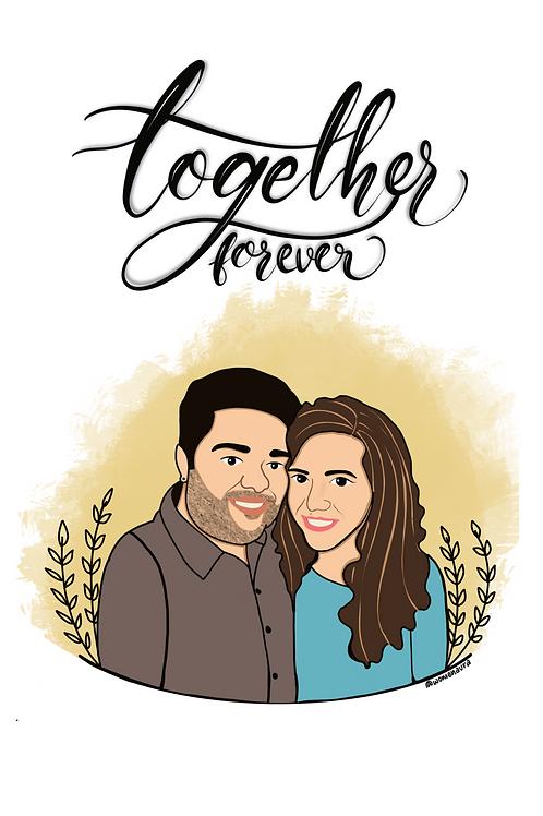 The Couple Portrait