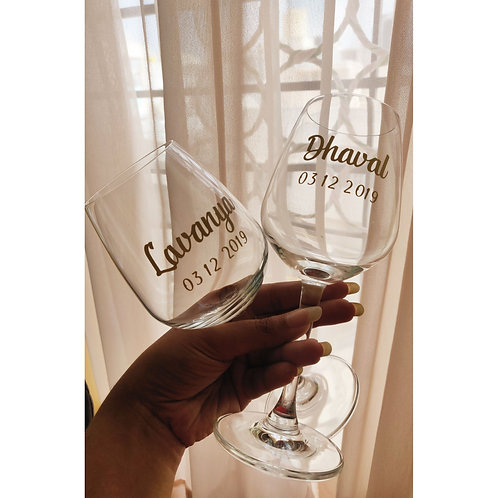 The His-Hers Glass