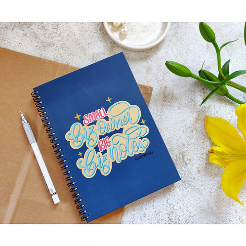 The Small Business Owner Notebook