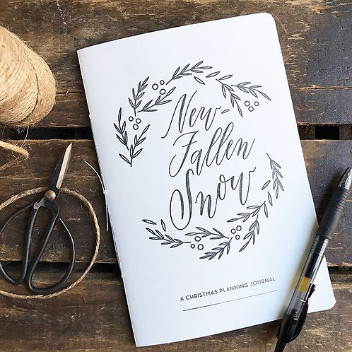 New-Fallen Snow Christmas Planner