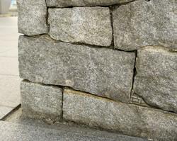 石組壁   Stoned wall