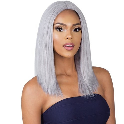 7A Grade Grey Bob Wigs Lace Frontal Wig Free Shipping