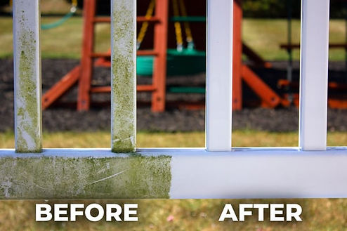 Fence Washing in New Jersey