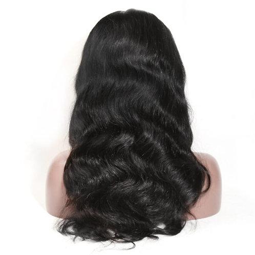 10A Body Wave 13×4 Frontal Unit Wig 150%-180% Density Virgin Hair