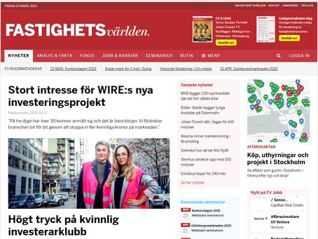 Stort intresse för WIRE:s nya investeringsprojekt