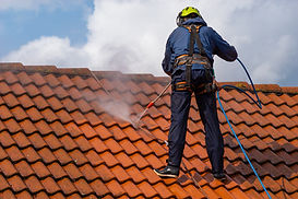 Roof Washing in New Jersey