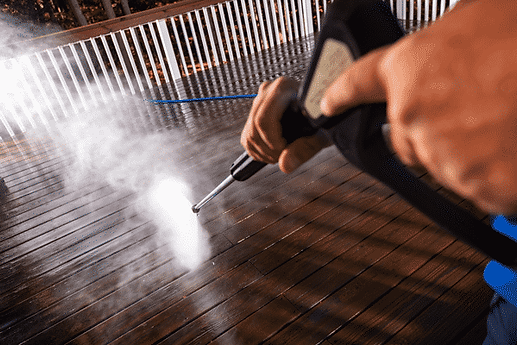 Deck Washing in New Jersey