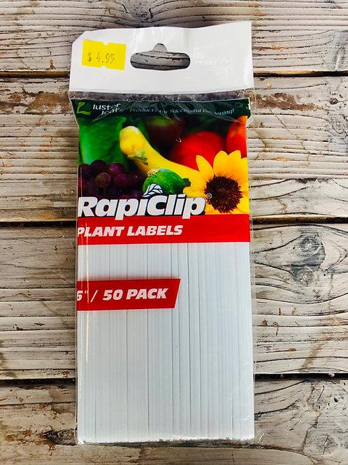 """Plant Labels PK/50 6"""""""