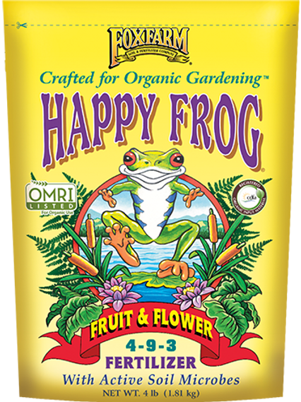 Fox Farm Happy Frog Fruit & Flower Fertilizer