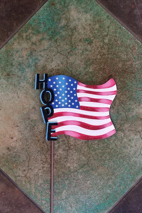Hope Metal Flag Stake/Hang