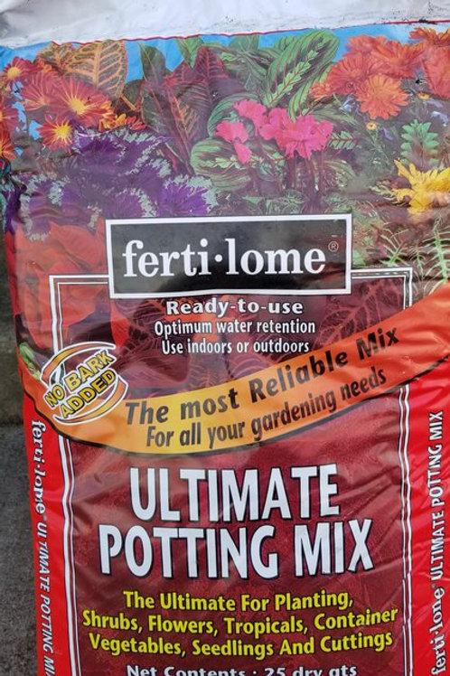 Fertilome Ultimate Potting Mix 25qt ALL LOCATIONS