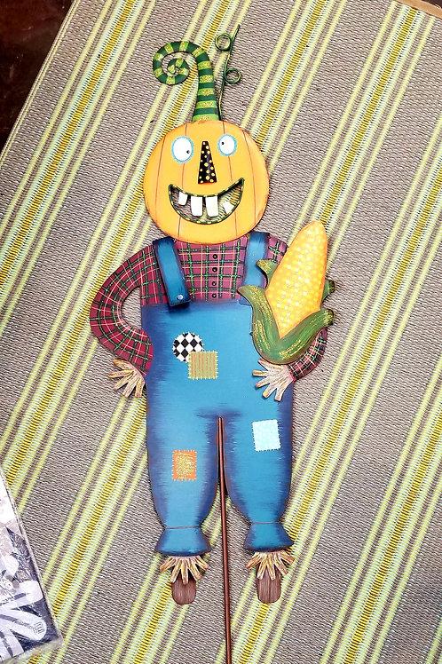 Crazy Jack Scarecrow Yard Stake