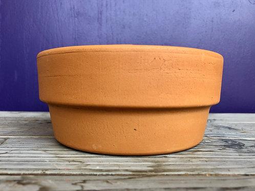 "Terra Cotta Pot 5.5"" Bulb Pan"