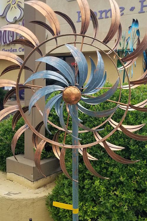 Copper Petals Windspinner