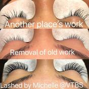 Natural lash set ❤️💕 #lashes #lashexten
