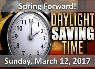 Daylight Saving Time Helpful Tips