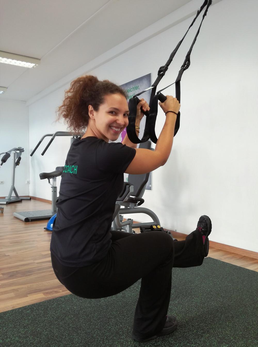 Sling-Training in der fitboutique
