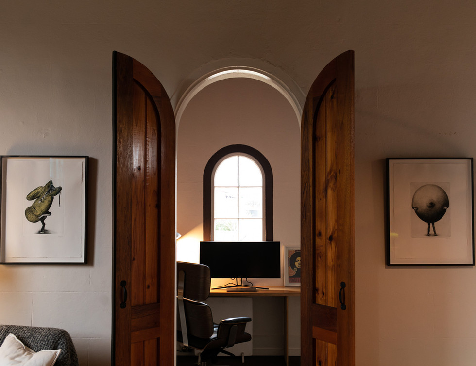 Sunday House Study and library nook