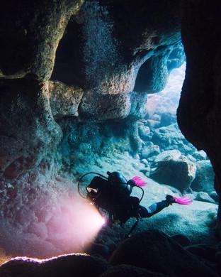 Underwater Lava Tube