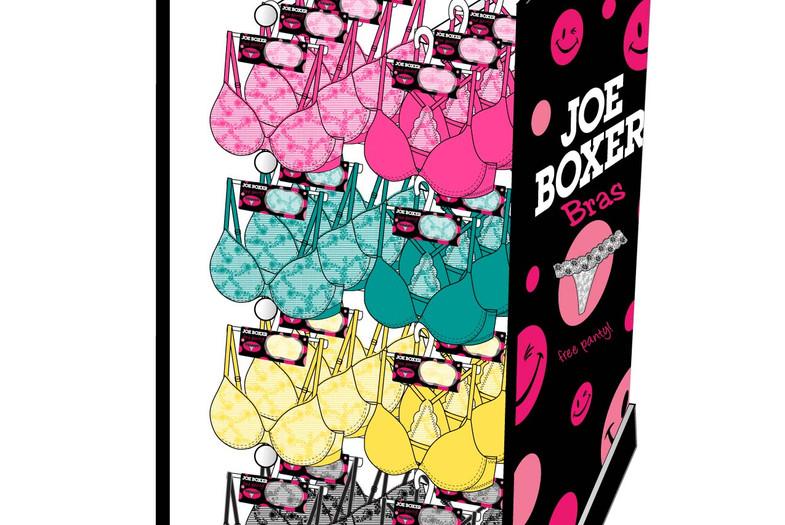 Joe Boxer Bra Shipper