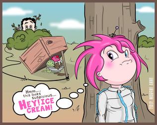 Ice Cream Trap Comic