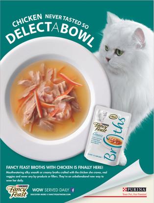 Fancy Feast Magazine Ad