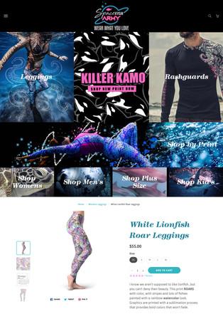 Clothing Shopify E-Commerce Website