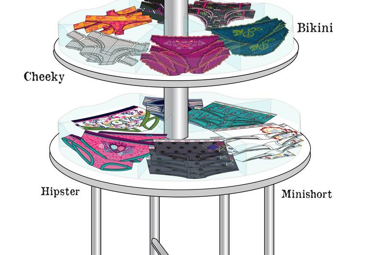 Mudd Panty Table