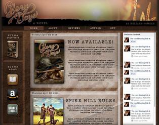 Novel Promotion Website