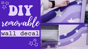 DIY Removable Wall Decal Blog Post link