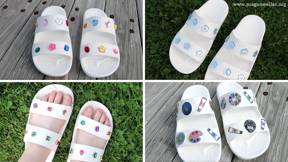 How to make Croc Jibbitz charms, Croc sandals, are crocs trendy 2021?