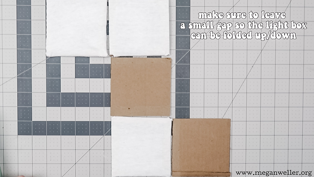 How to make a light box for photography from a cardboard box. Things to do with Amazon boxes.