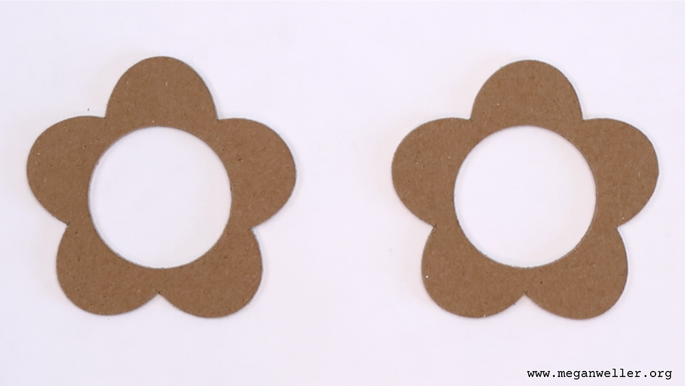 I used my Cricut Maker to cut shapes from 2mm chipboard. Cricut crafts for beginners, easy Cricut Maker crafts.