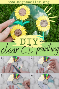 How to make a clear CD + CD painting ideas aesthetic