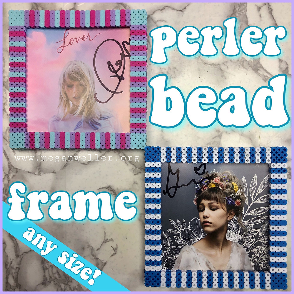 How to make a Perler Bead frame in ANY size!