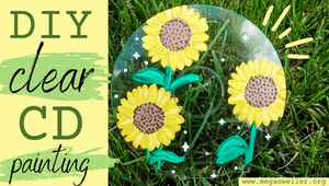 How to make a clear CD/CD painting ideas cover image.