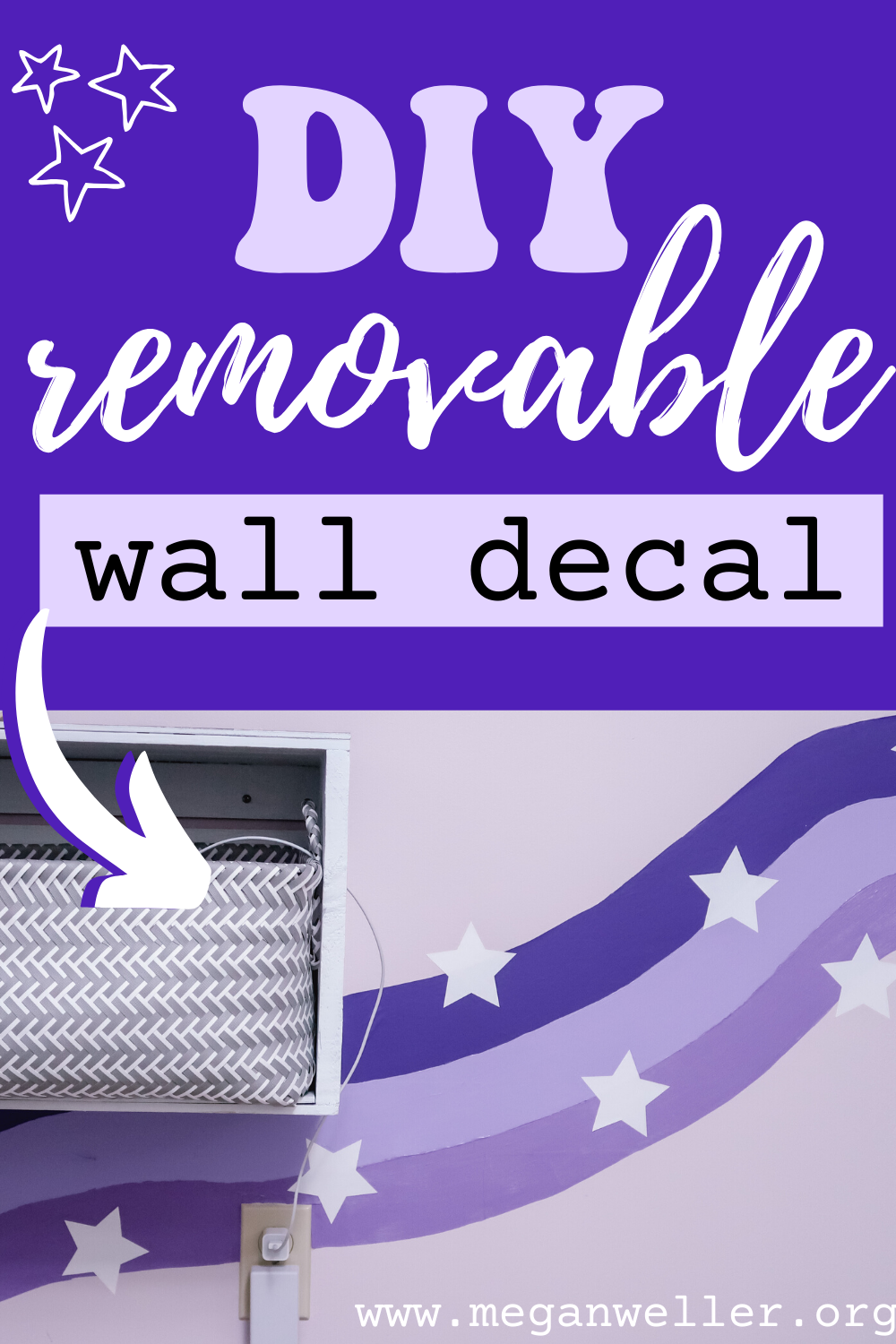 DIY Removable Wall Decal Pin