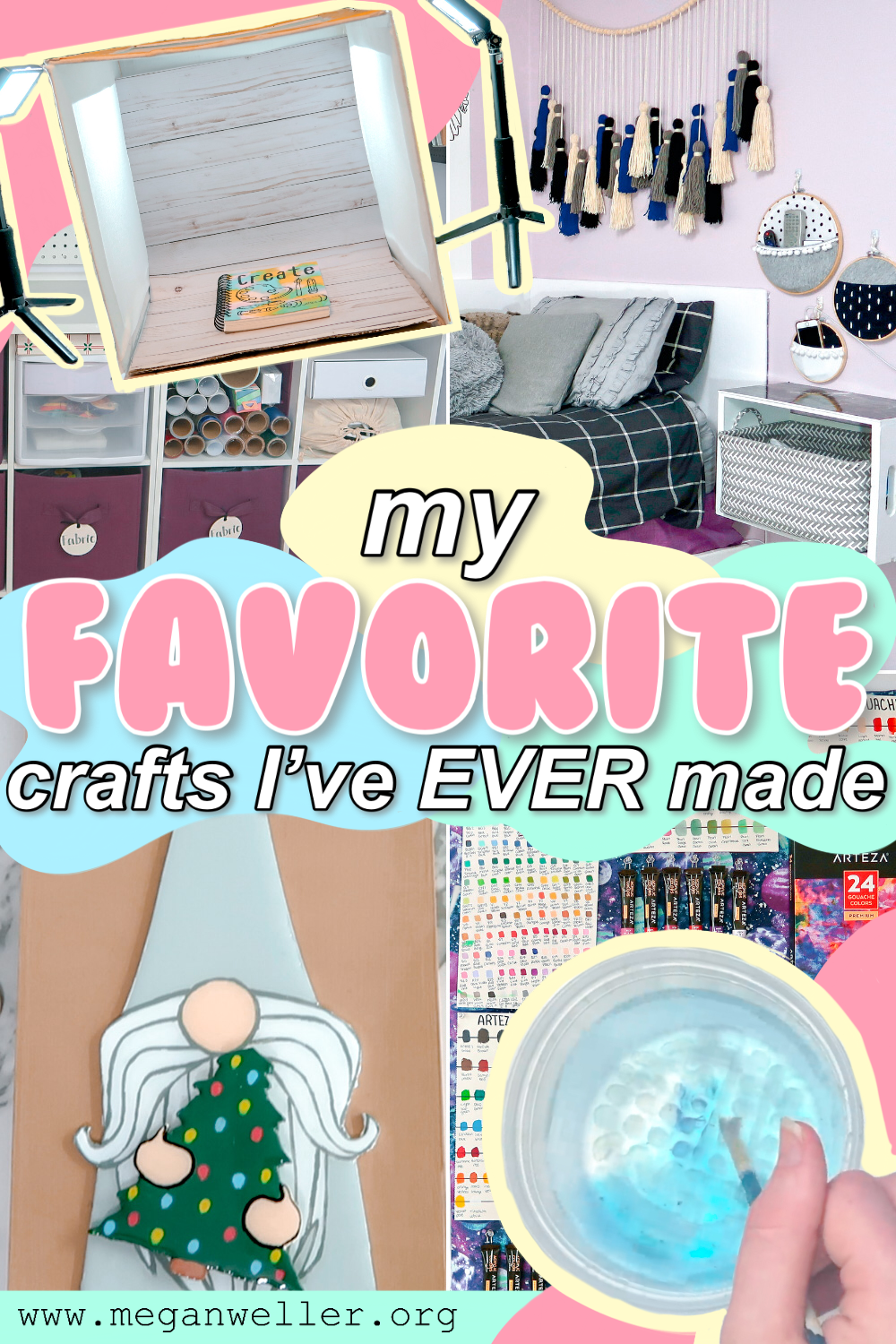 My FAVORITE crafts that I've EVER made! 10 easy crafts to make when you're bored.