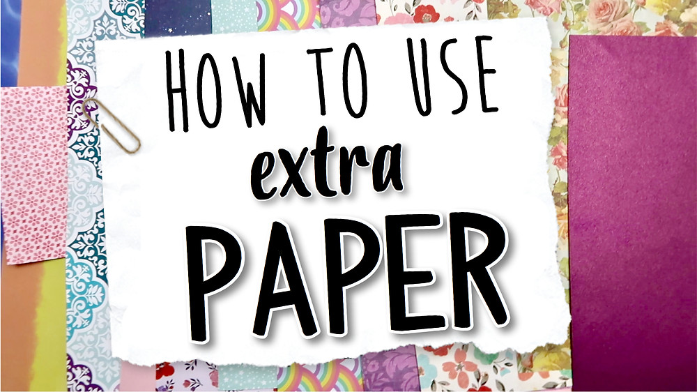 Click here to find out more creative ways to use paper scraps!