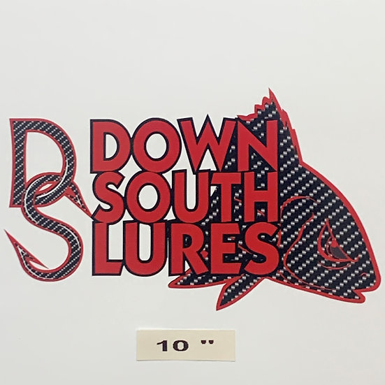 """DSL 10"""" Red Decal"""