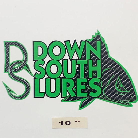 """DSL 10"""" Green Decal"""