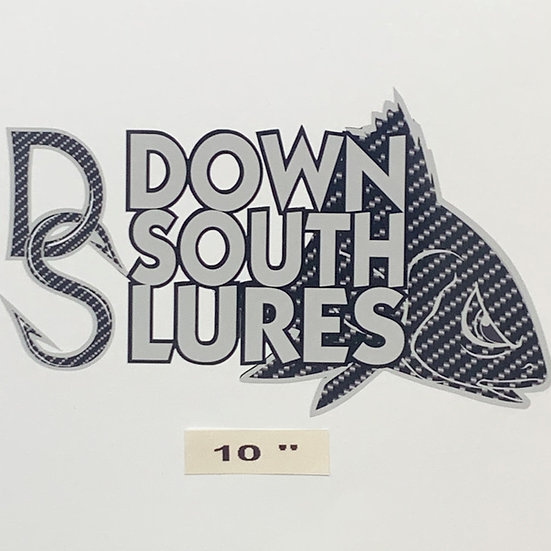 """DSL 10"""" Gray Decal"""